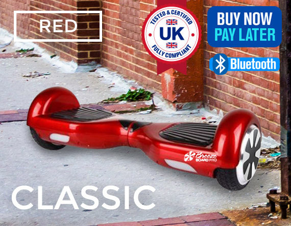 CLASSIC RED SWEGWAY<br>WITH FREE BUGGY DEAL!