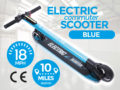 Electric Commuter Scooter Blue