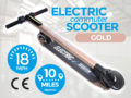 Electric Commuter Scooter Gold