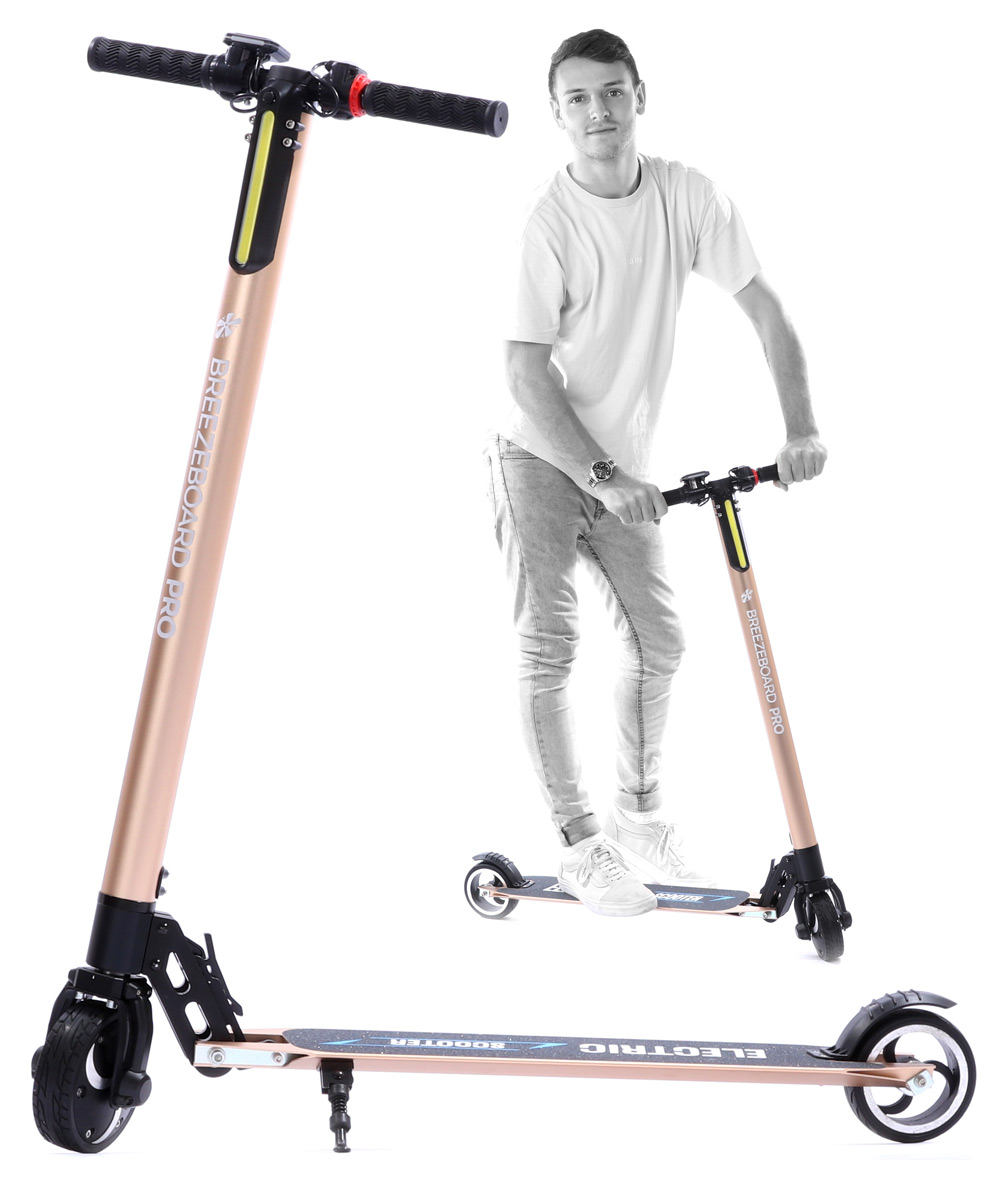 electric-commuter-scooter-ride-gold