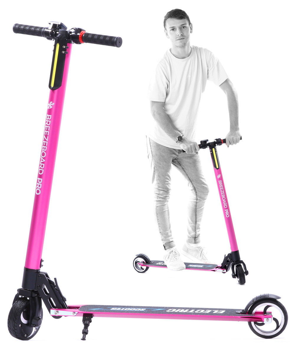 electric-commuter-scooter-ride-pink